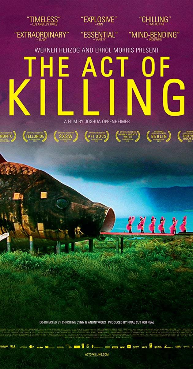 The Act of Killing αφίσα