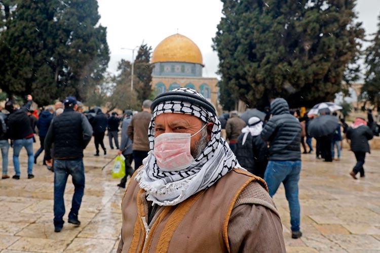 Παλαιστίνη Ισραήλ Γάζα κορονοϊός
