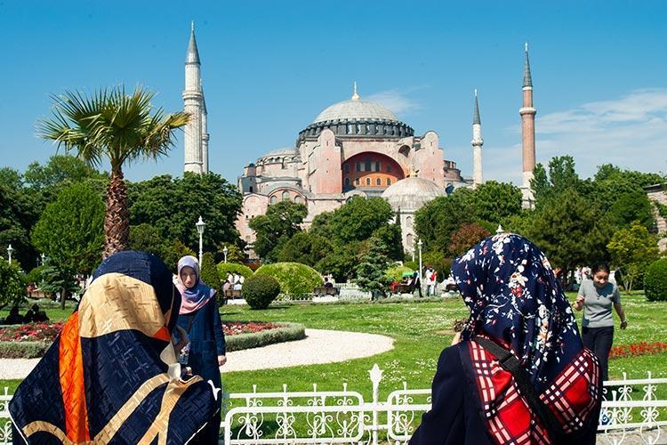 αγία σοφία κωνσταντινούπολη τέμενος