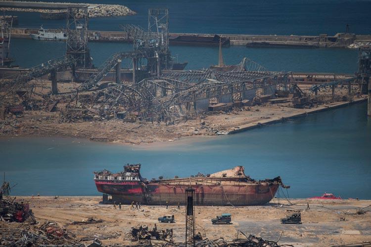 Βηρυτός έκρηξη εφοπλιστικό κεφάλαιο