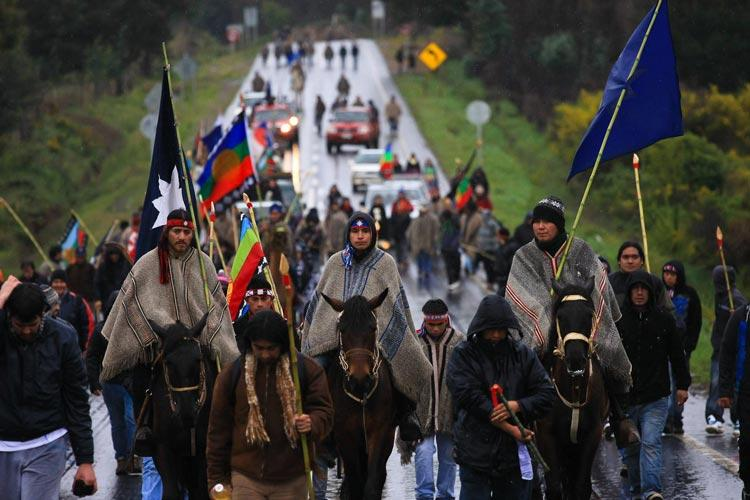 Μαπούτσε ιθαγενείς Χιλή