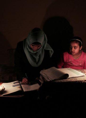 Γάζα ηλεκτρικό ρεύμα αποκλεισμός