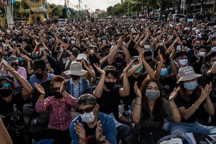 Ταϊλάνδη διαδηλώσεις