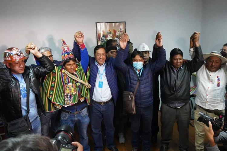 βολιβία δημοκρατία Άρσε νίκη Μοράλες