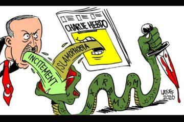 Latuff Ερντογάν Charlie Hebdo
