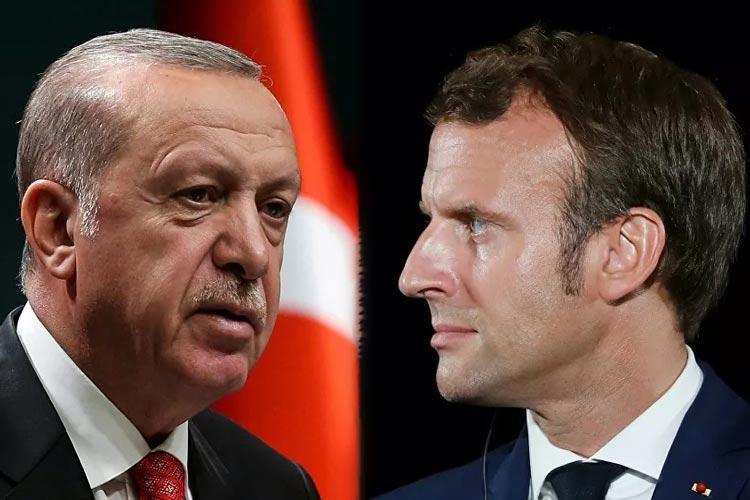 μακρόν ερντογάν γαλλία τουρκία