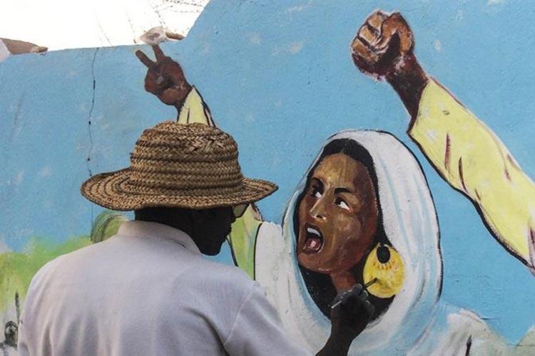 Σουδάν τέχνη επανάσταση