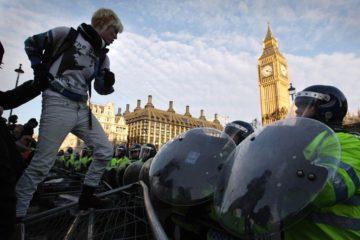 Αγγλία διαδηλώσεις νομοσχέδιο αστυνομία
