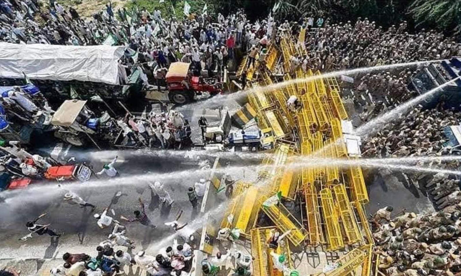 Ινδία απεργία συγκρούσεις