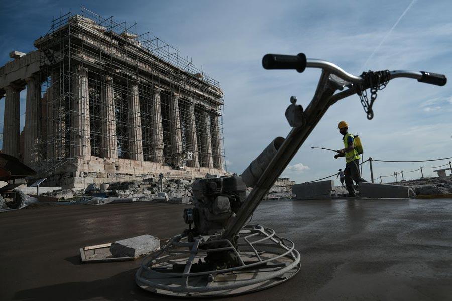μουσείο ακρόπολης τσιμέντα παραίτηση Κατζουράκης ΥΠΠΟΑ