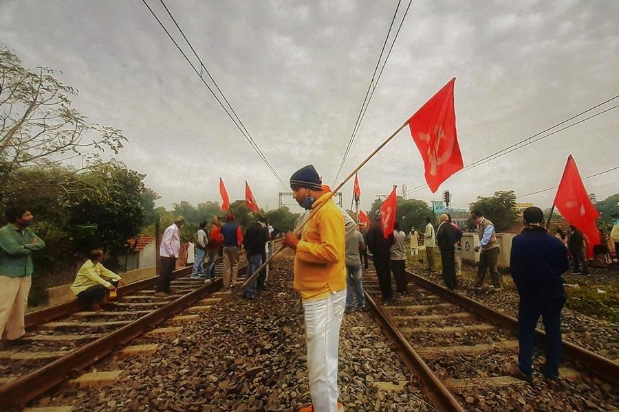 Ινδία απεργία