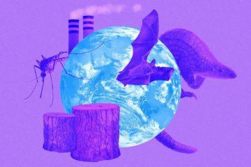 κλιματική αλλαγή πανδημία κορονοϊός