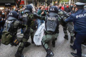 Πρωτοβουλία αλληλεγγύης διαδηλώσεις αστυνομία