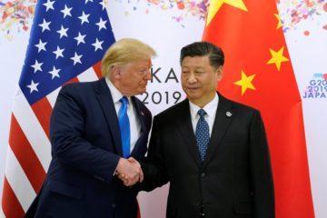 Κίνα Μέση Ανατολή ΗΠΑ