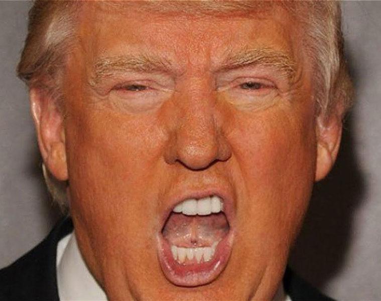 πορτοκαλί Τραμπ Καπιτώλιο