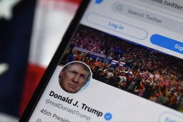 Τραμπ Twitter φίμωση