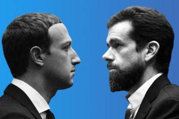 λογοκρισία λογοκριτές Facebook Twitter Ζούκερμπεργκ Ντόρσι