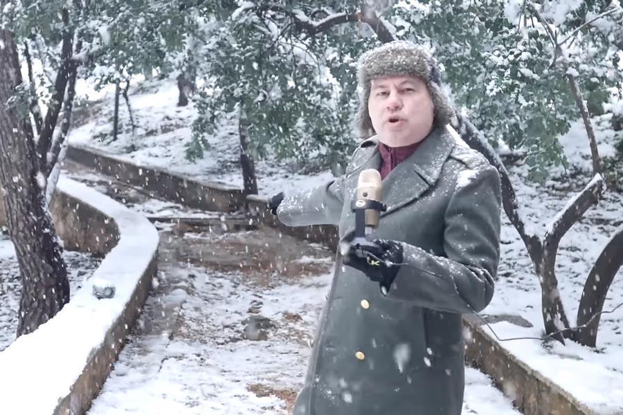 ZaraleaksTV Ζαραλίκος χιόνι