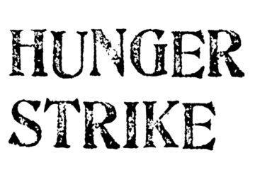 απεργία πείνας hunger strike