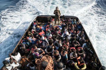 λιβύης ακοτοφυλακή μετανάστες Μεσόγειος