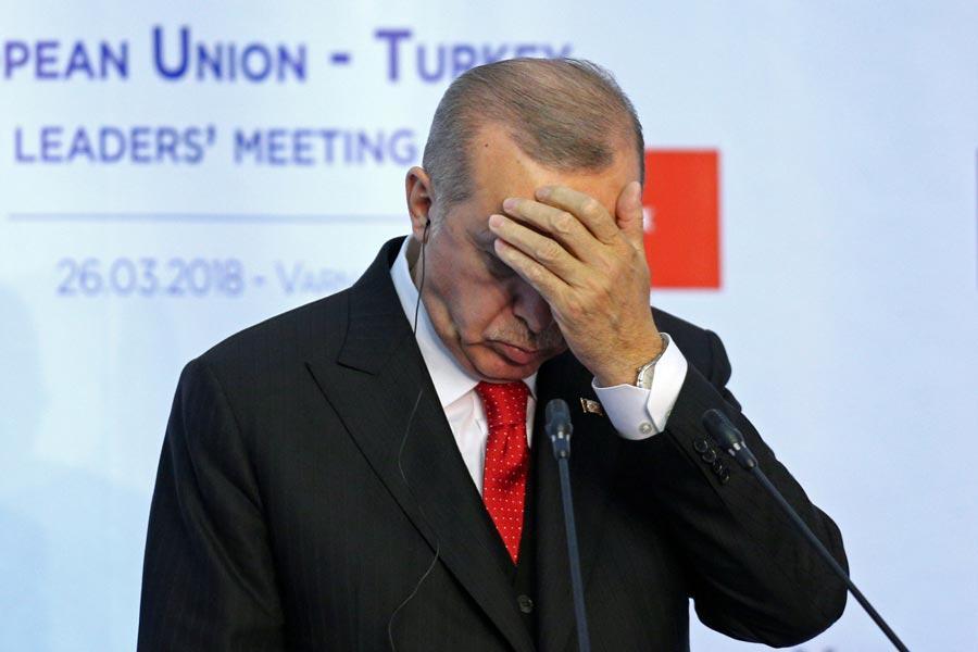 ερντογάν τουρκία σημείο καμπής