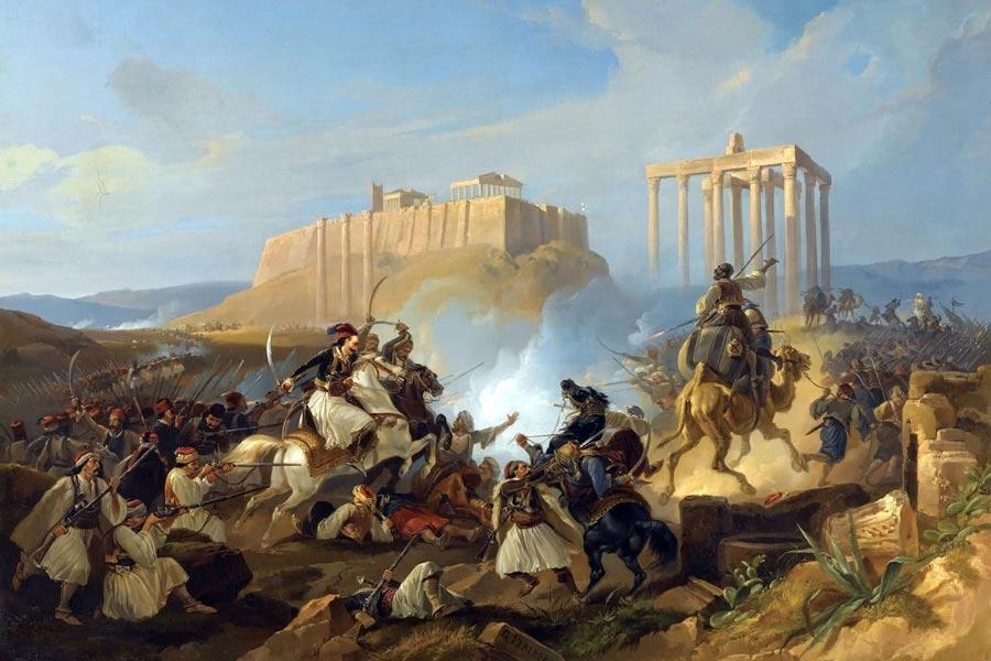 απο-αποικιακών σπουδών ελληνική επανάσταση