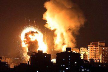 Γάζα Ισραήλ αεροπορικές επιθέσεις