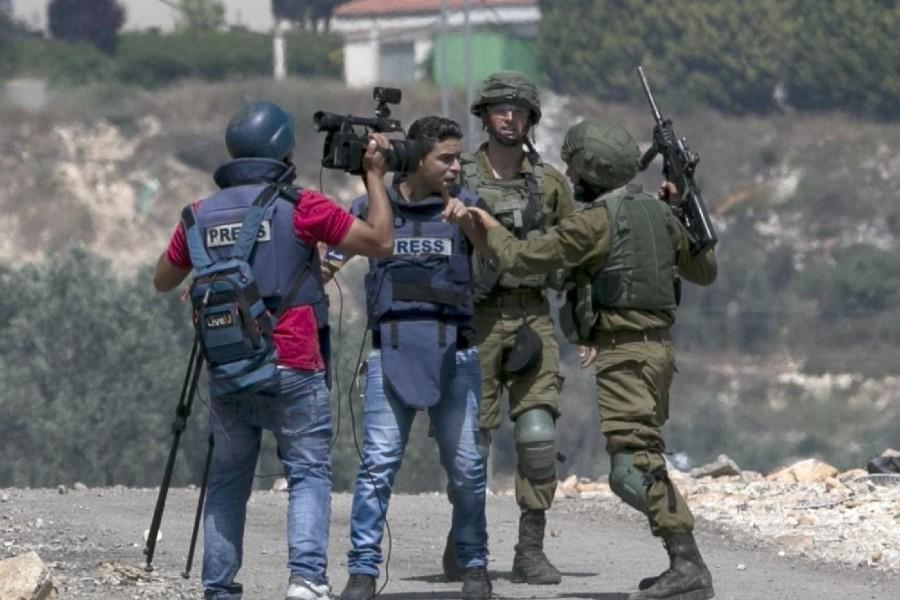Παλαιστίνη, δημοσιογράφοι, Ισραήλ