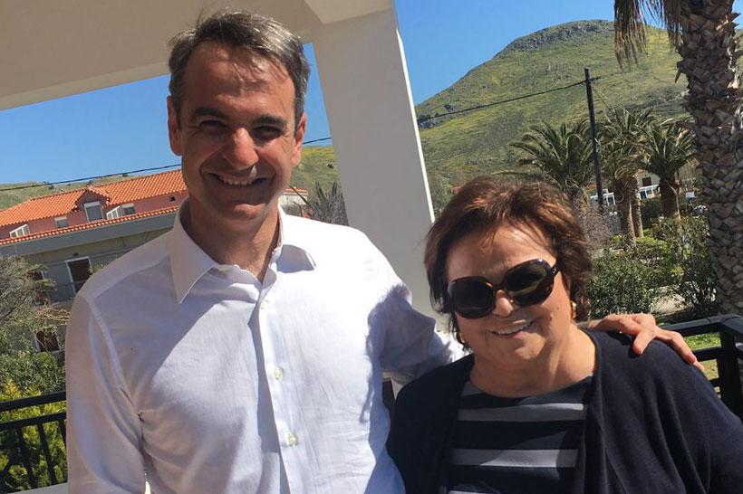 Νίκη Ταβέλα Νέα δημοκρατία Μητσοτάκης