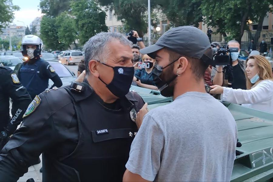 αστυνομικοί δημοσιογράφος ΑΠΘ επίθεση